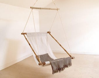 Hanging Chair, Swinging Chair, Garden, Terrace, Patio Bar Made Of Bamboo And
