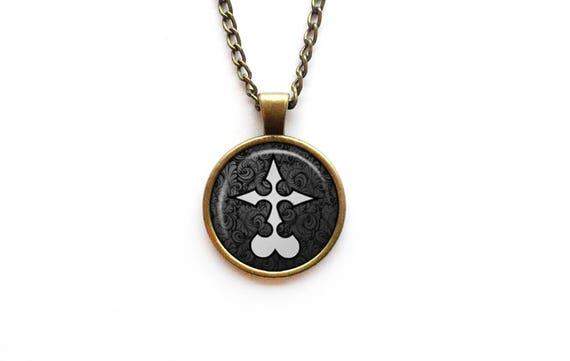 Necklace Kingdom Hearts Nobody Symbol