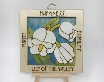 Lilly of the Valley Wall Hanging