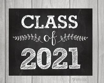 Class of 2021 - Back to School - Teacher Signs - First Day of School Sign- Teacher Signs
