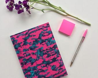 Pink Haze // Ankara Notebook // African Print