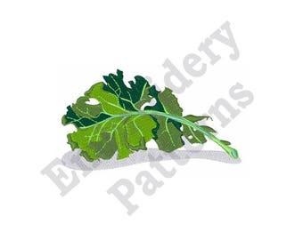 Kale Leaf - Machine Embroidery Design