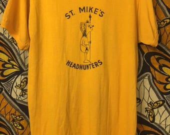 Vintage 'Headhunters' ringer shirt