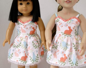 Spring or Easter Dress for 18 to 20 inch dolls