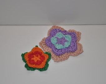 3-color flower