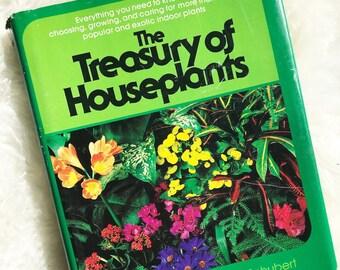 Vintage Houseplants Book The Treasury if Houseplants // Indoor Plants Biho Decor