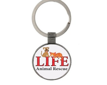 LIFE Animal Rescue Keychain
