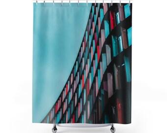 Shower Curtain  London United Kingdom 2