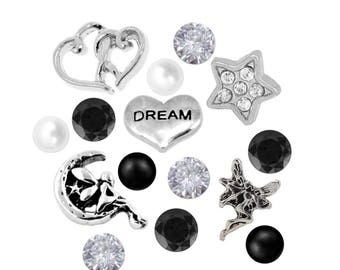 Fairy Dream Floating Charms 4.5mm Czech Crystals