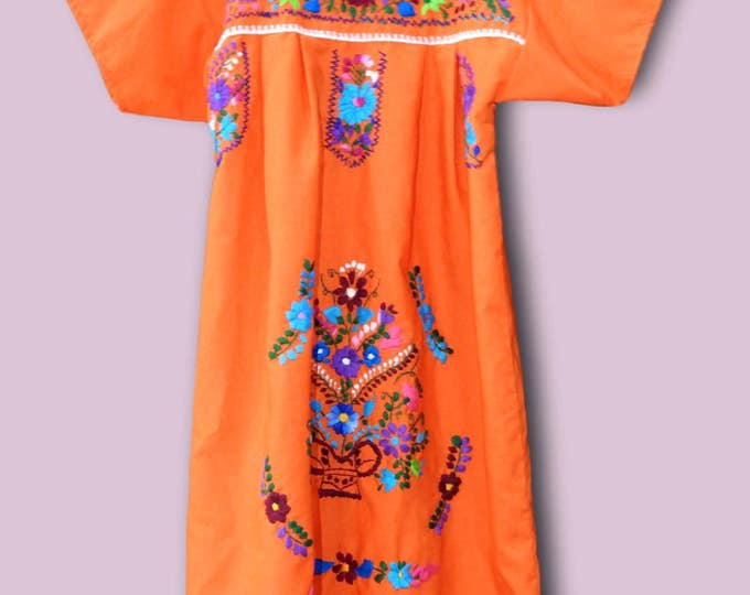 Cinco de mayo  mexican embroidered dress, Folklorico mexican dress for girls,  Mexican dresses for girls, folkloric mexican dress for girls
