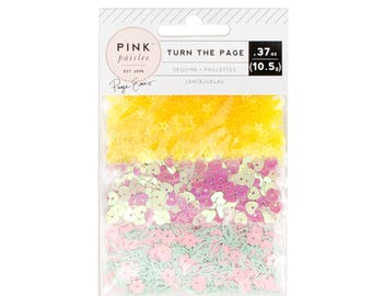 Turn the page Paige Evans sequins pack