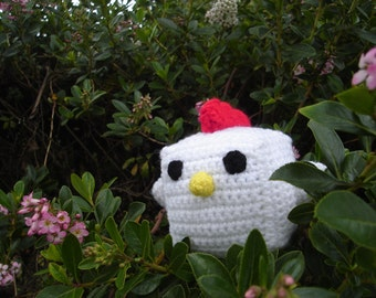 Crocheted Baby Chicken Plush  ( Different Colors Available )