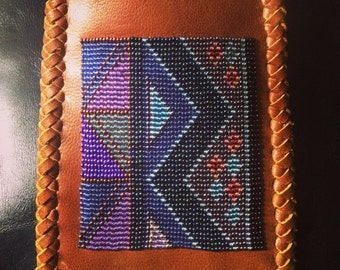 Beaded Pocket Purse