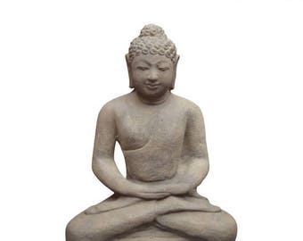 20% off this item Cast Buddha Statue