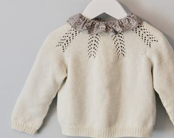 Forest Fern Sweater (English and Norwegian pattern)