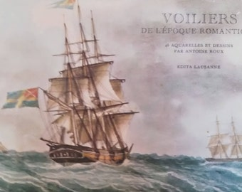 sailboat Watercolour designs by emile Red Book