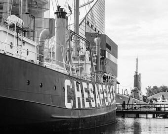 LV116 Chesapeake - Baltimore Harbor, Maryland, Photo prints or canvas