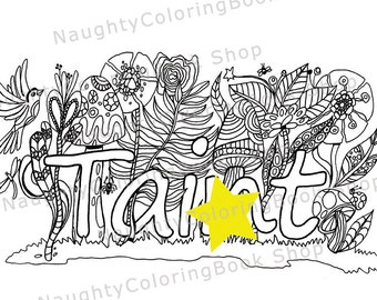 Pregnancy Announcement Cards Planner by NaughtyColoringBook