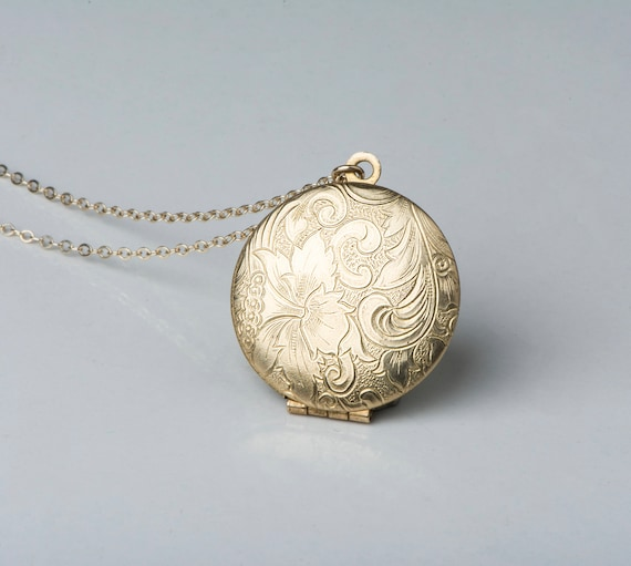 floral nile locket engraved lrg in gold round main yellow lockets phab detailmain petite blue