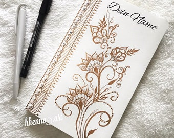 Personalized notebook, White, A5