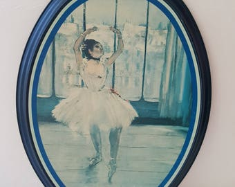 Dancer Posing For the Photographer - Tin Wall Art - by Edgar-Hilaire-Germain Degas - 1974