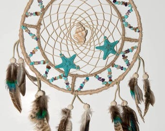 Seaside ocean dreamcatcher