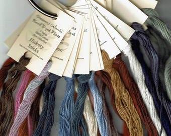 25 Skeins Crescent Colours Hand Dyed Embroidery Floss #2