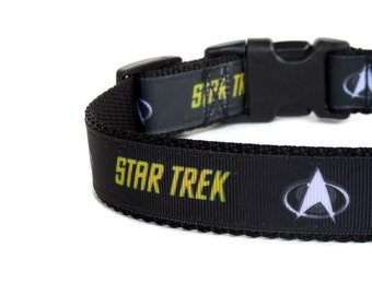 Star Trek Dog Collar (Buckle or Martingale)