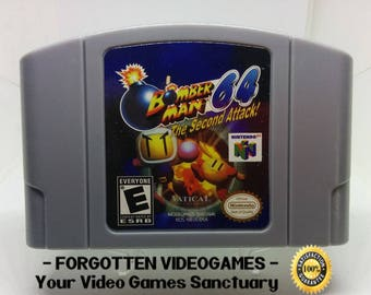 Bomberman 64 The Second Attack - N64 Nintendo 64