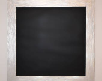 Framed Magnetic Chalkboard, Family Organization, Memo Board, Home Command Center, Magnetic Organizer, Home Decor, Creative Board, 2X2 ft
