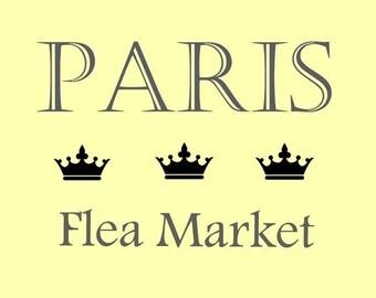 STENCIL French Paris Flea Market   10 X 7
