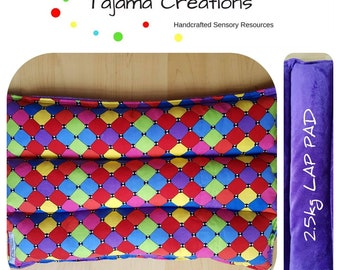 Sensory Weighted Lap Pad for Autism ADHD Anxiety Sensory Processing Dementia - 1 to 3kg