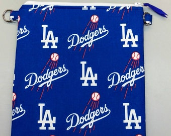 LA Dodgers purse/ messenger bag with adjustable strap
