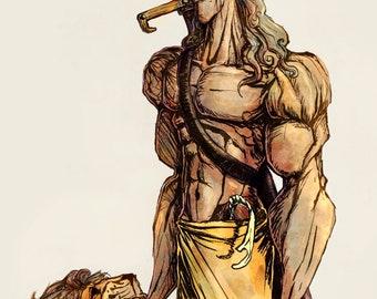 Samson Style - Signed Fine Art Print