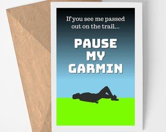 Geocaching Printable Card - Pause My Garmin