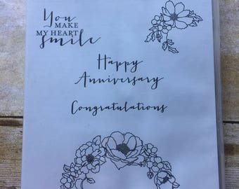 Timeless Love clear mount stamp set from Stampin'Up!