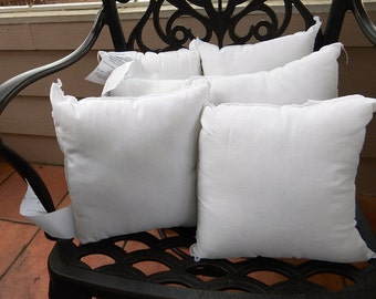 "Pillow Inserts - 10"" x 10"" - Never Used"