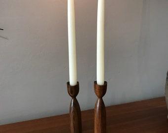 Rosewood Scandinavian Candle Holder! FREE SHIPPING!!