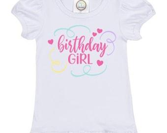 Birthday Girl Girls Shirt