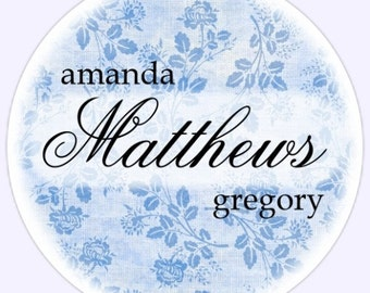 Custom Wedding or Bridal Shower Labels, Stickers - Personalized for YOU