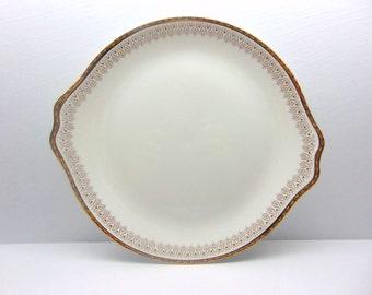 Vintage Royal Albert Platter Bone China England, Burlington Pattern