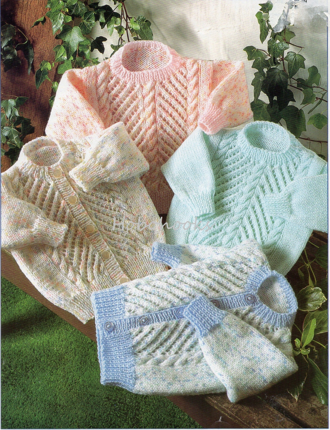 Baby Knitting Pattern Baby Sweater Pattern Baby Jumper Pattern Baby ...