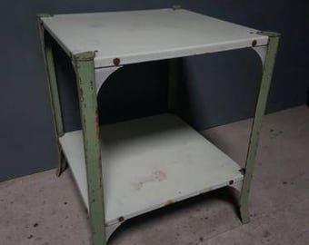 Brocante Table Enamel