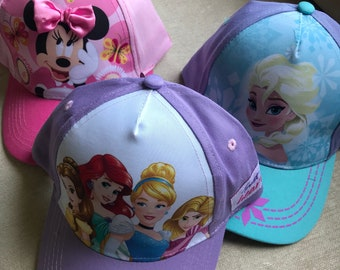 Disney Inspired Childrens Baseball Hats