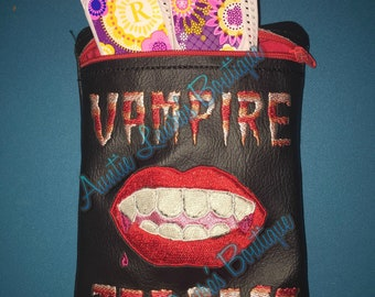 Vampire Tea Bags Tampon/Cosmetics bag