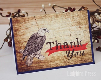 Printable Thank You Card - Boy Scout Eagle Thank You Card - Masculine Thank You Card  - Court of Honor - Instant Download - PDF