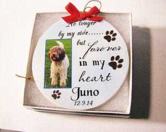 Pet Memorial - Pet Ornament - Christmas ornament - Memorial Ornament - Dog Ornament - Dog Memorial - Personalized - Ornament - Cat Ornament