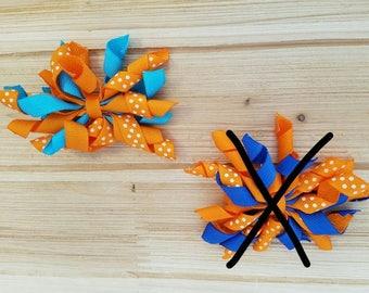 "3"" Korker, Orange/Turquoise, STORE CLOSING"