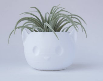 Cat Planter V2, Succulent Planter, Air Planter Many Colors