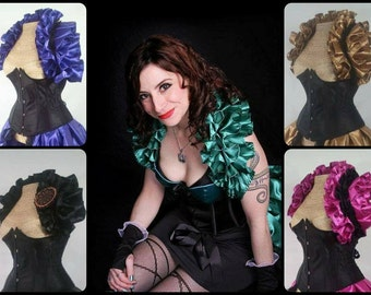 Satin Opera Shrug ONLY (Multiple colors avaliable)